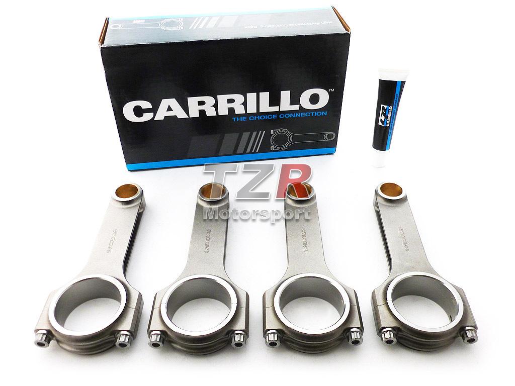 CARRILLO H-Schaft Stahlpleuel Mitsubishi EVO 1-3 2,0L 16V 150,00/21,00 mm (4G63 6-bolt)